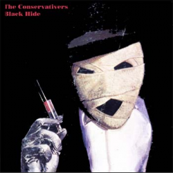 Blackhide E.P., by The Conservativers (cover)
