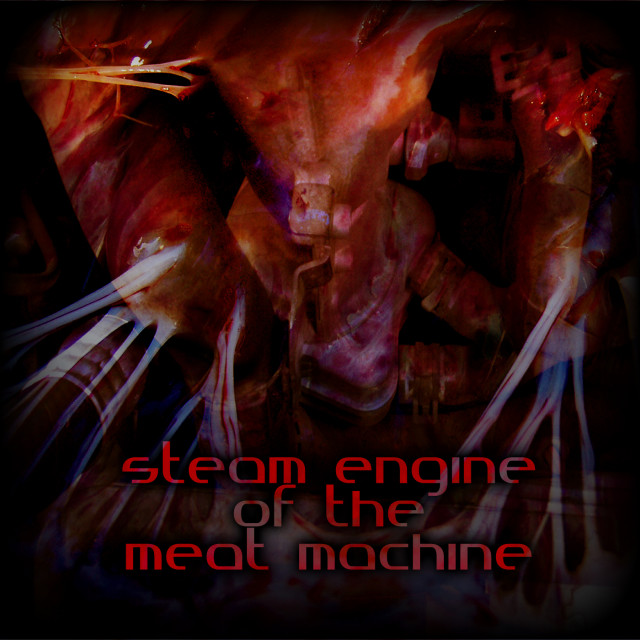 Steam Engine Of The Meat Machine Logo